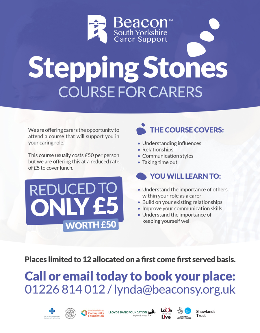 Beacon South Yorkshire Stepping Stones Course for Carers